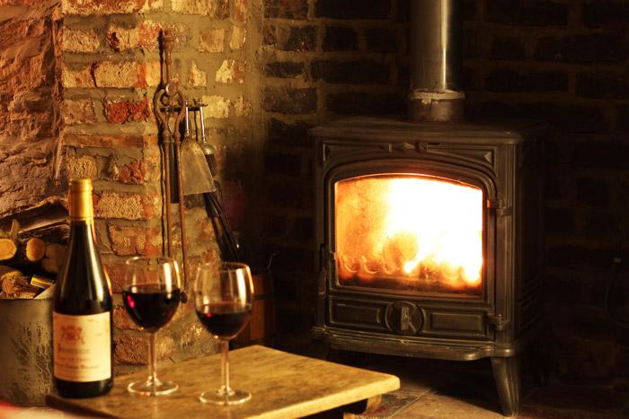 Wine by the Fireside